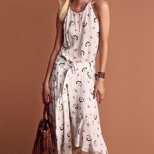 A.L.C. Topper Print Silk Dress - Celebrity Fav
